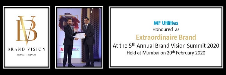 MFU Honoured as an Extradinaire Brand, at the 5th Annual Brand Vision Summit 2020, held at Mumbai on 20th February 2020.