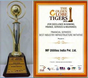 MFU awarded the Golden Globe Tigers Award 2016 for the Best Industry Infrastructure Initiative