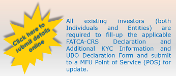 MF Investors Update FATCA, CRS, UBO and additional KYC Details online